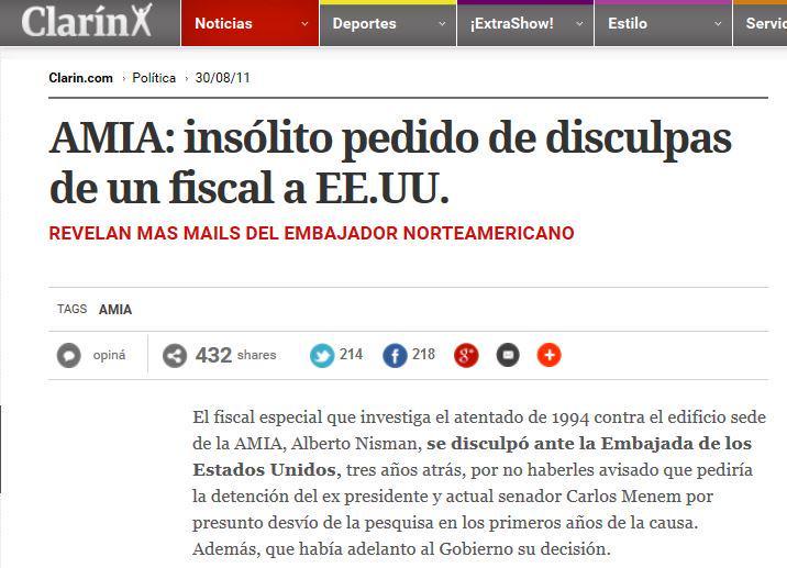 Caso Nisman, vinculos internacionales y servicios de inteligencia - Página 2 B7vZlixCQAAEsLO