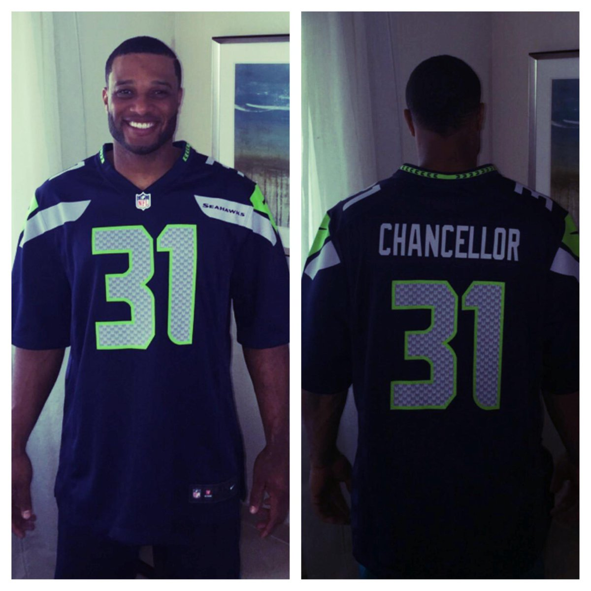 So proud to rep Seattle! Congrats @Seahawks on another trip to the #SuperBowl http://t.co/g6AIvd2lOq