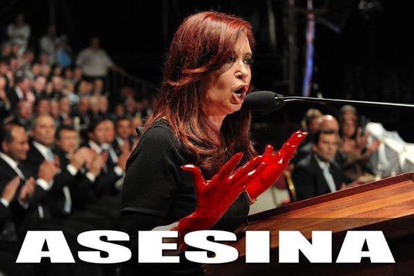 """El Fiscal Nisman pasó 11años investigando y se """"suicida"""" el día que iba a exponer las pruebas contra ella #CFKAsesina http://t.co/4mZbTqGxtp"""