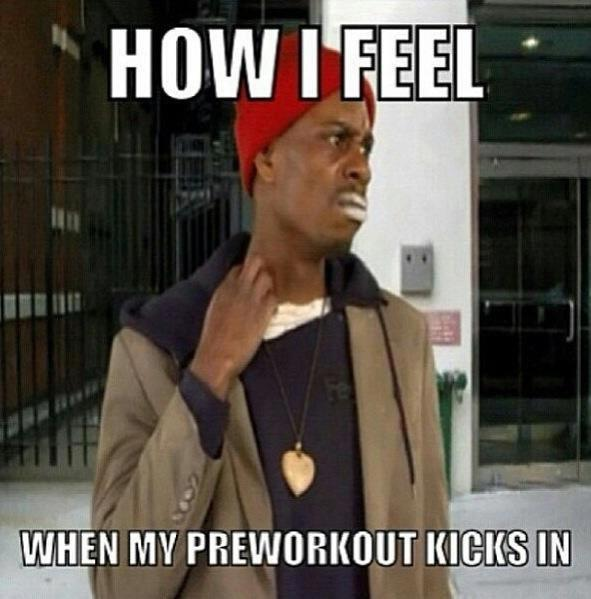 Pre Workout Quotes Your Pre-workout Kicks in