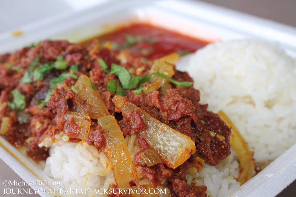 Fijian Curried Corned Beef Recipe — Dishmaps