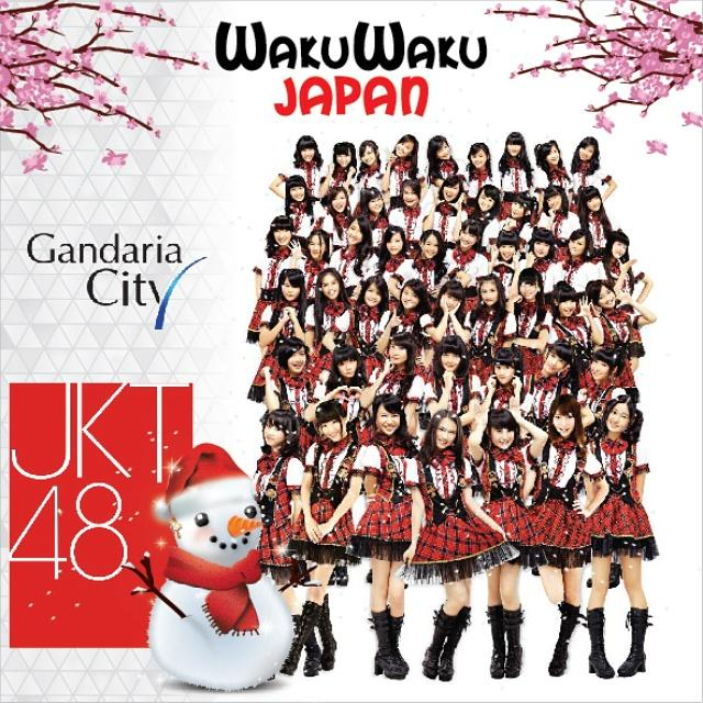 Nantikan pertunjukkan special dr @officialJKT48! Minggu, 25Jan. Pukul 7 malam di Piazza GandariaCity @WAKUWAKU_JAPAN http://t.co/NcSWkLABYw