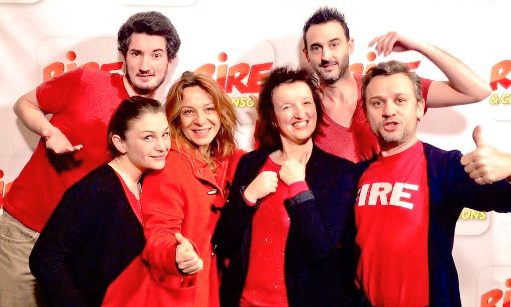 "Rire & Chansons on Twitter: ""Ce matin, @anne_roumanoff est l ..."