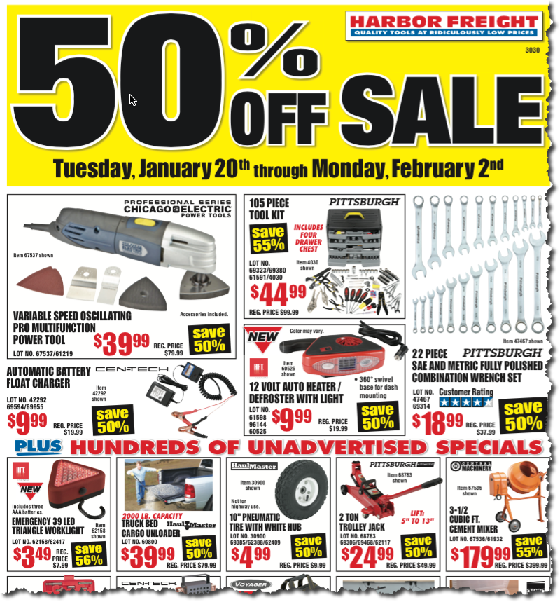 6 verified Harbor Freight Tools coupons and promo codes as of Dec 2. Popular now: Save up to 70% off Sale & Clearance. Trust techriverku3.gq for Tools savings%(2K).