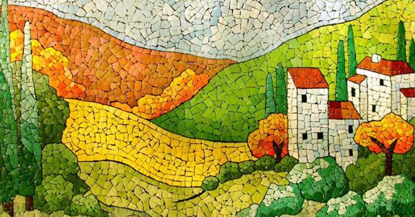 Картины с мозаикой своими руками