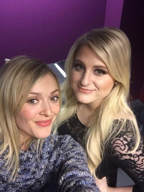 RT @BBCR1: It's all about that bass! @Meghan_Trainor is in the Live Lounge at midday! #R1MeghanTrainor http://t.co/xIk7MoN7Pc