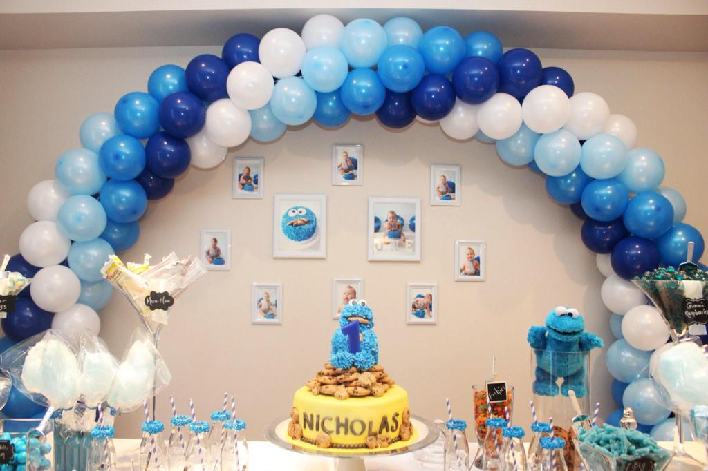 Balloonsmorebyryan On Twitter Nicholas 1st Birthday Httpt