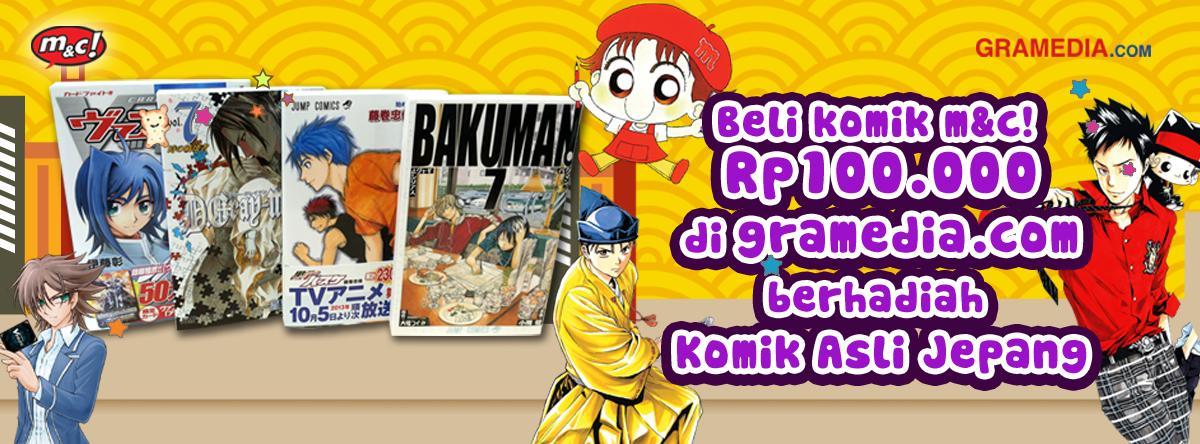 Gramedia Store On Twitter Beli Komik M C Rp100 Ribu Di Gramedia