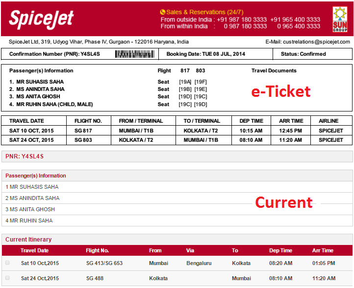 how to cancel spicejet flight ticket