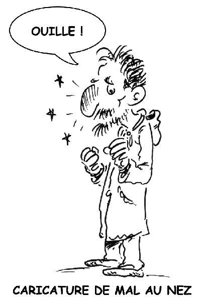 Caricature_de_mal_au_nez