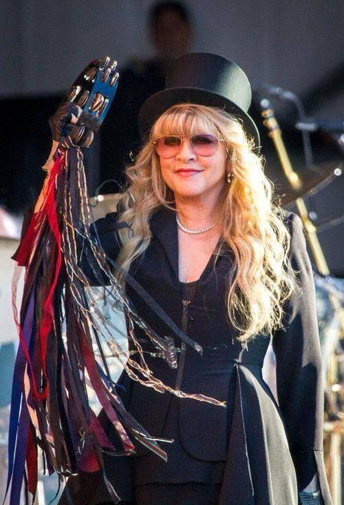 Stevie Nicks Chain On Twitter Top Hat Tambourine Tuesday