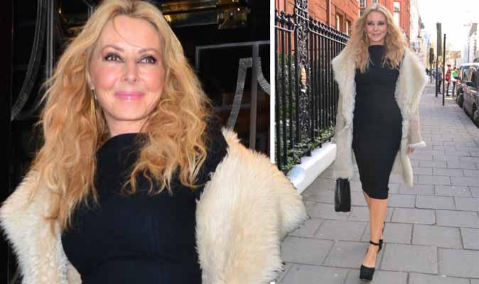 """Lunch pics RT @Daily_Express @carolvorders flaunts *INCREDIBLE* figure in little black dress http://t.co/Z2Ac6YP6ra http://t.co/6rT274oY3F"""""""