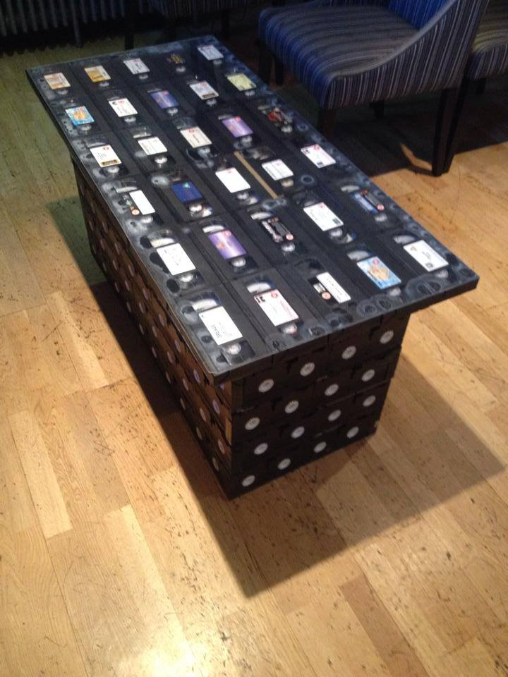 Love this VHS coffee table, handmade by a member of staff at @suaPicturehouse. http://t.co/LiAduA8HQ5