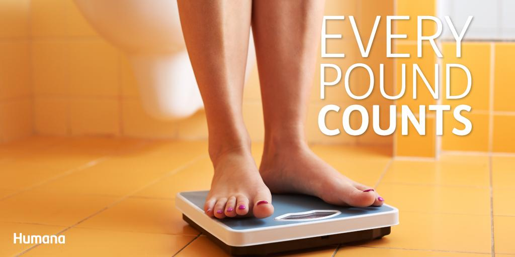 Humana On Twitter Every Pound Lost Is A Victory Weightloss