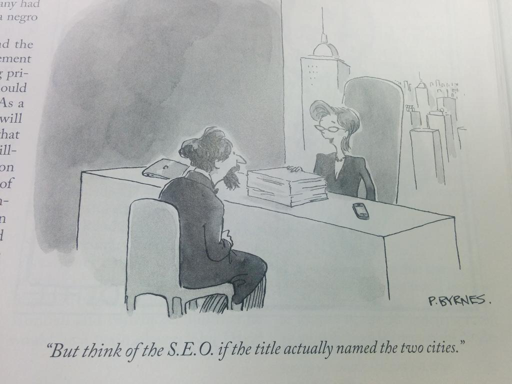 You know your industry has become mainstream when you find this in @NewYorker magazine. http://t.co/zvSkMPzMMo