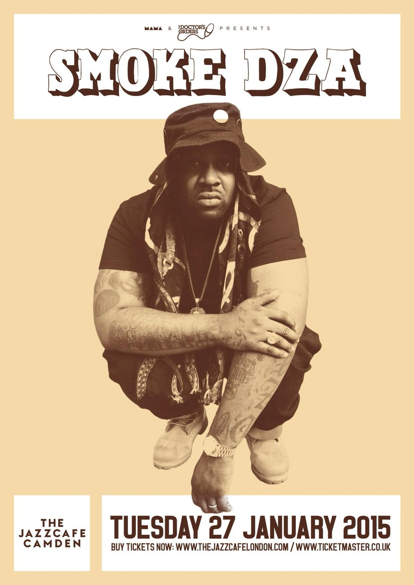 Looking forward to Rugby Thompson @smokedza with @SpinDoctorUK at The Jazz Cafe next week #kushgod #piffgang #lolife http://t.co/sw7pLrJysL
