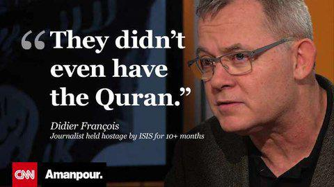 A former #ISIS captive said that his captors appeared to care little about religion http://t.co/y3Xme1UqIK http://t.co/PDjkFSldtb