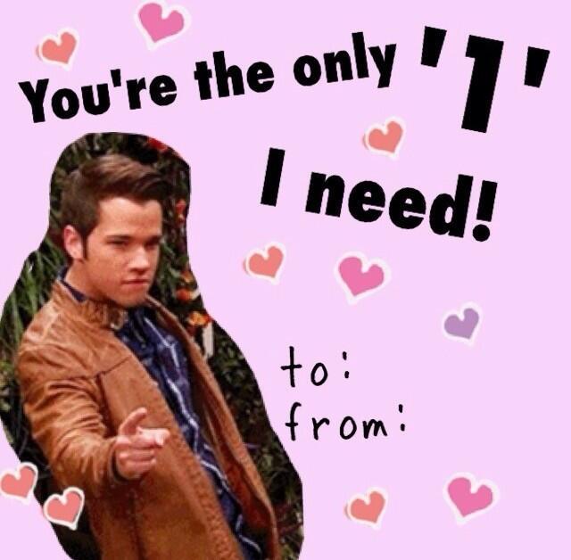 iCarly Valentines iCarlyValentine – Icarly Valentine Cards