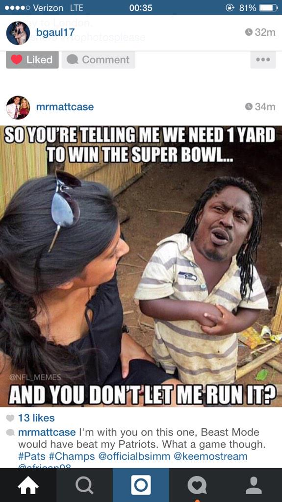 Best meme so far since end of #SuperBowI game http://t.co/DSYqlbwHoj