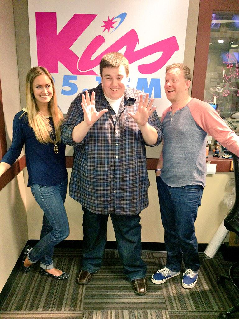 It's official !!!! The new @Kiss951WNKS morning show is hereeee! @RadioManey  @kissroyboy http://t.co/0w1qiRaN3W