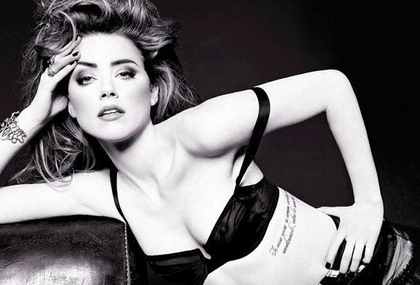 Divulgam fotos sexy de Amber Heard.