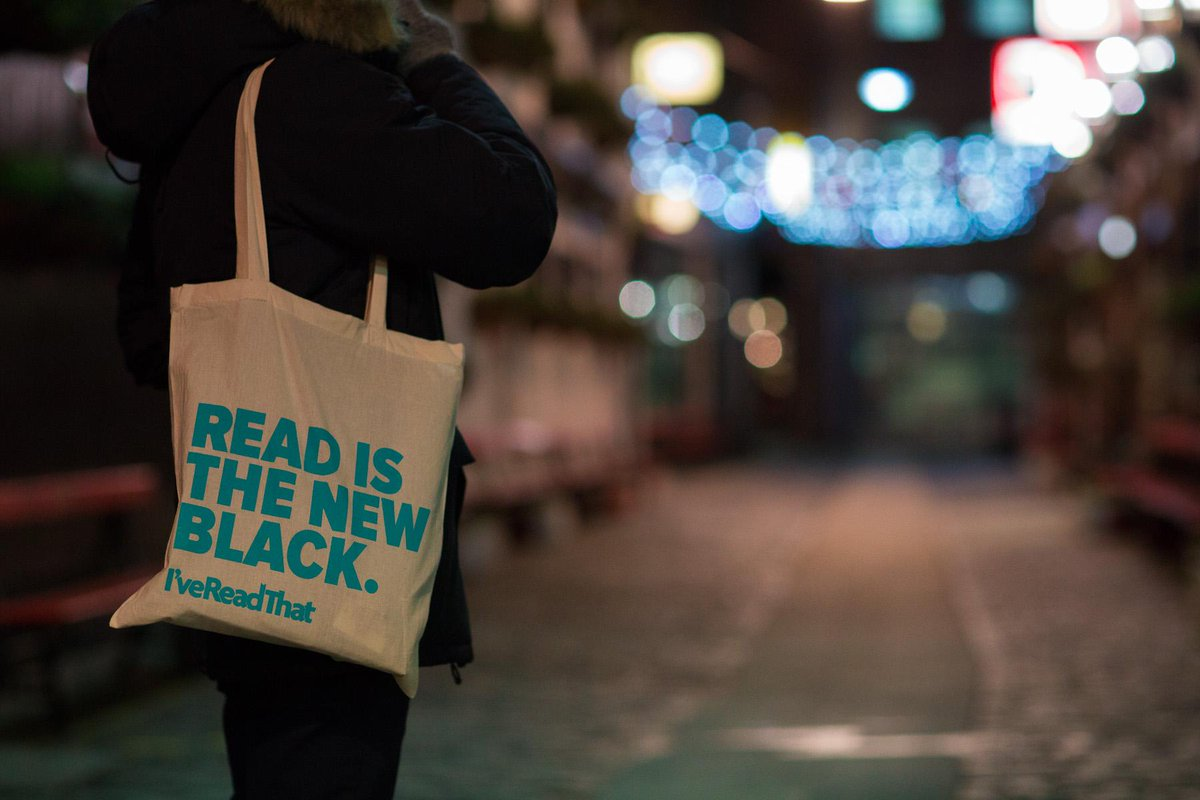We have a #readisthenewblack & #readbloodedwoman tote bag to give away! RT & follow to enter! http://t.co/fYcdjpxxV6 http://t.co/PNxFvEbdGi