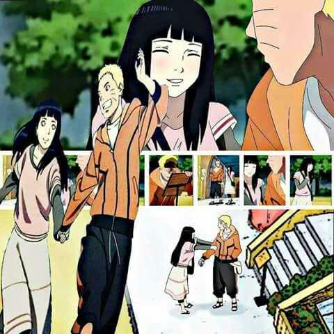 when do naruto and hinata start dating