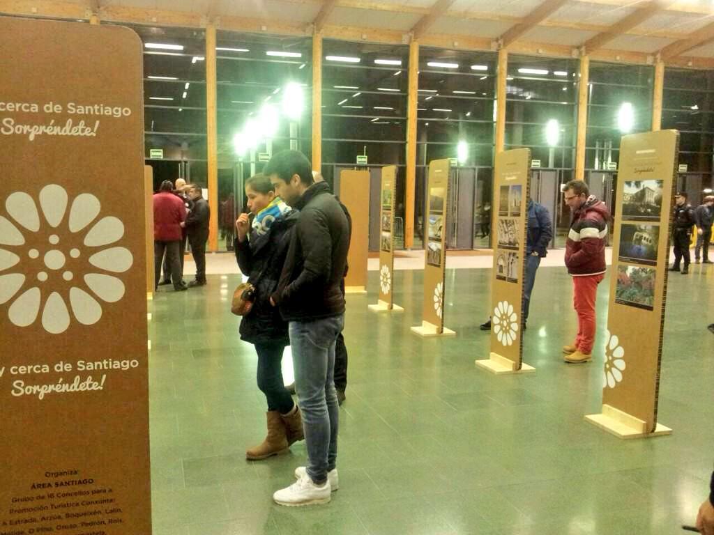 Exposición de Área Santiago en el Multiusos