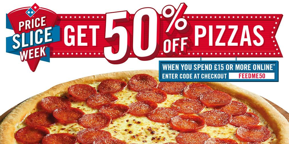 Share Coupons For Domino's Pizza