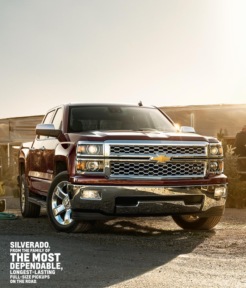 In it for the long haul: The 2015 #Silverado 1500 goes the distance. Day in, day out. http://t.co/ZEDme8Lhet http://t.co/jr9oYxkhB0