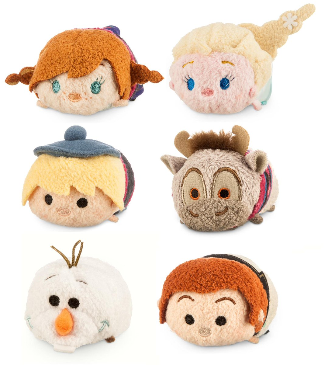 EXCLUSIVE! #Frozen Tsum Tsum coming to @DisneyStore! Anna, Elsa, Olaf, Sven, Kristoff & Hans! http://t.co/EBX6NtmnEL http://t.co/PEAqr2q5U5