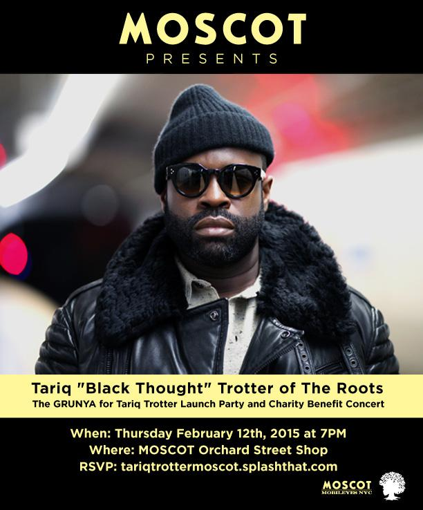 T-10 days until Tariq @blackthought Trotter hits the #MOSCOTmusic stage! Get your tickets: http://t.co/GwN15574fE! http://t.co/WdAOFBqZZY