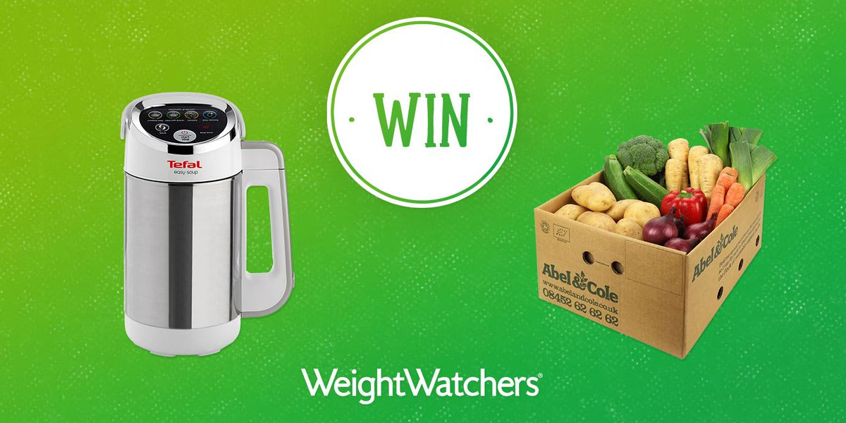 Win a Tefal soup maker & an Abel & Cole box and try our Filling & Healthy approach! Follow & RT to enter. http://t.co/X7L2doRXKT