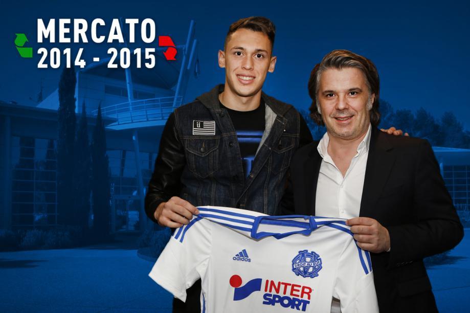 Lucas Ocampos prêté à l'OM #Mercato  → http://t.co/GTJttC5Bif   #TeamOM http://t.co/k04gI3mixL