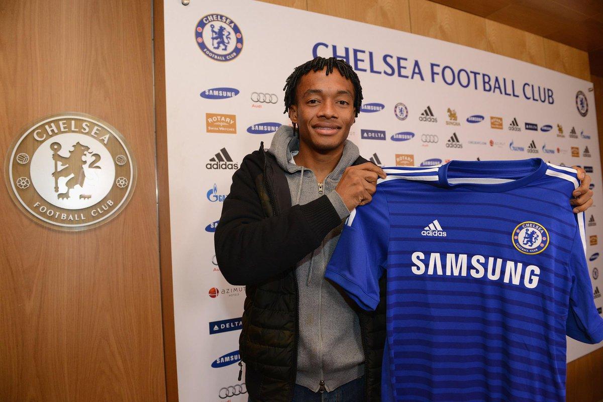 Juan guillermo cuadrado es oficialmente jugador del Chelsea