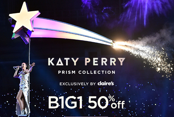 49d01fad5a0 celebrate katyperry s amazing performance w bogo 50 off the  katyperryprismcollection