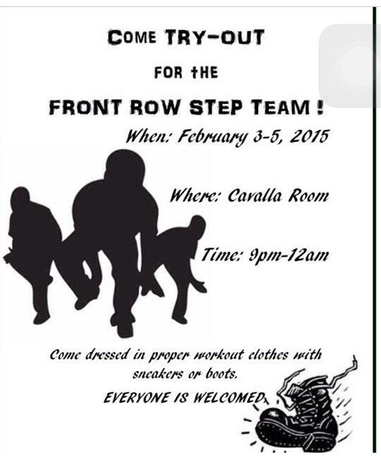 Front Row Step Team At Frstepteam Twitter