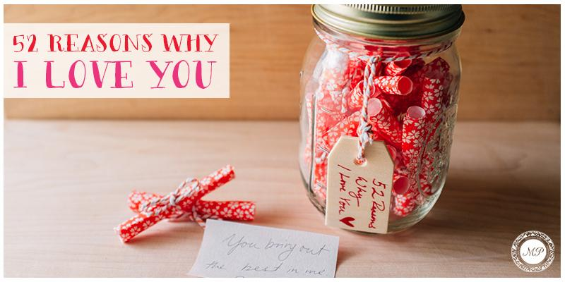 100 reasons why i love you ideas