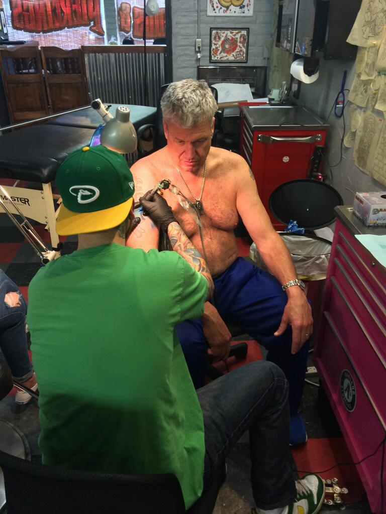 Sorry, Jets fans. Rex Ryan has changed his tattoo to Buffalo Bills blue. http://t.co/5Y5sMUz5Xp http://t.co/U1ShpWzXA8