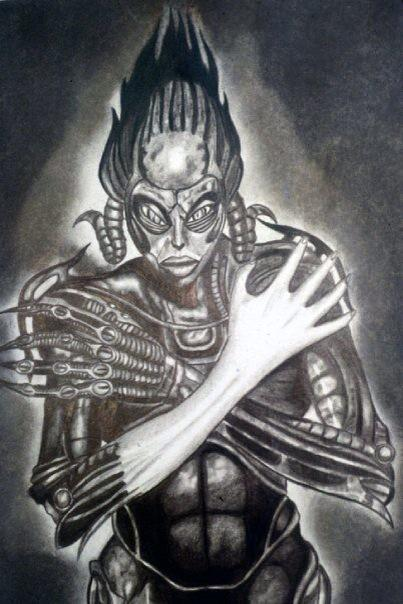Gil Macias On Twitter Sil Drawing I Did In 1996 Sil Species