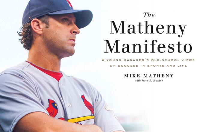 Want to win a copy of the Matheny Manifesto? RT to be entered! We will draw a winner tomorrow at noon! #stlcards http://t.co/6MgjheRlpZ