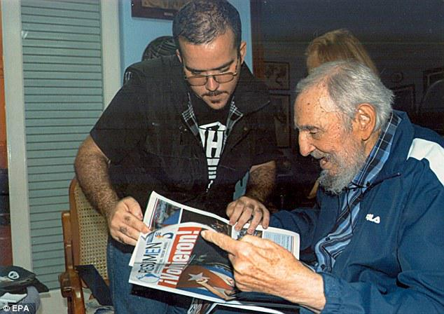 Cuba releases pictures of Fidel Castro for first time in six months http://t.co/A9Iu9ar35d http://t.co/Ct7if6j26I