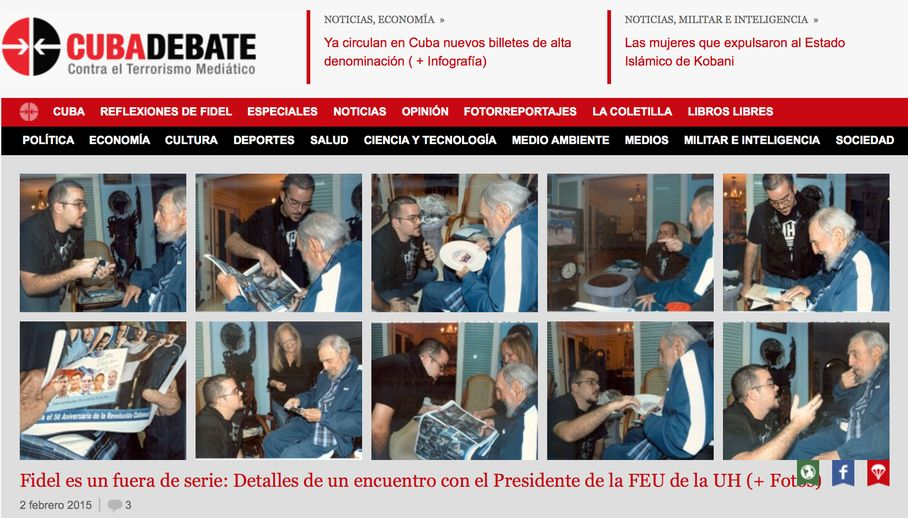 Cuba publishes first photos of Fidel Castro in 5 months: http://t.co/nNL4HaLvPk http://t.co/3DlNQtu0Sa