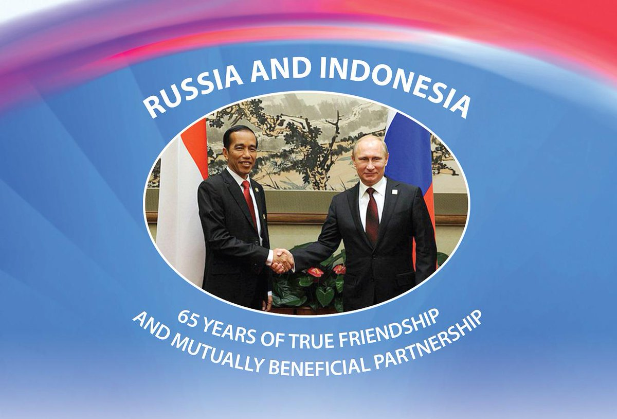 1.#Galuzin- Congratulations on 65th Anniversary of the Russian-Indonesian relations! @Portal_Kemlu_RI @antaranews http://t.co/UbePf37bnD