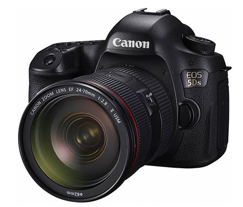 Canon EOS 5Ds & R. Supposedly with 50.6mp, it's Canon's way of leaving a flaming parcel of poo on Nikon's doorstep. http://t.co/FyMNGjiec3