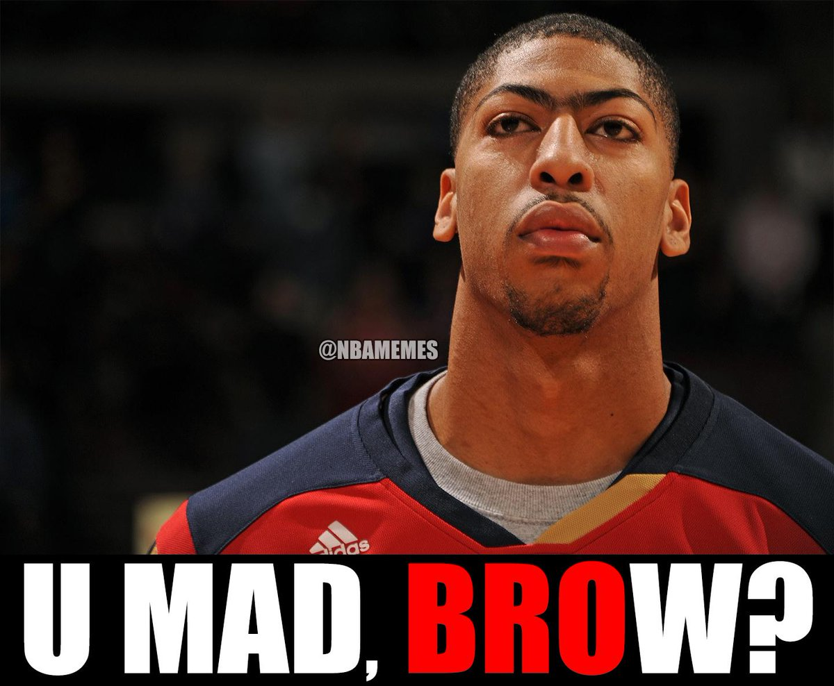 "NBA Memes on Twitter: ""Anthony Davis & the New Orleans ..."