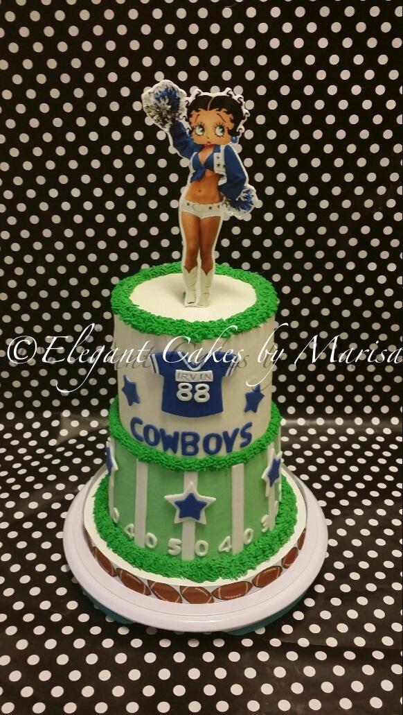 Elegantcakesbymarisa On Twitter Dallas Cowboys Themed Cake