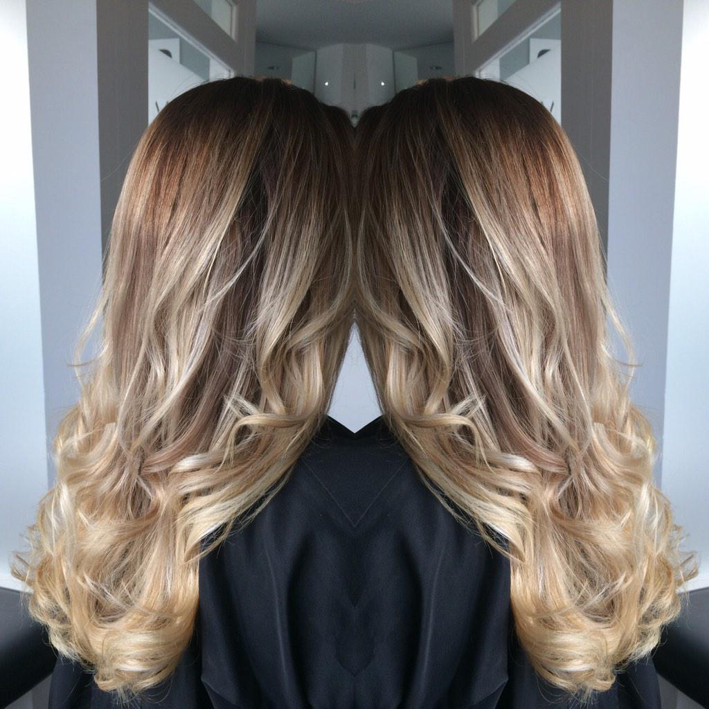 The Hair Room On Twitter Ombre Ombrehair Brunette Blonde Ghd