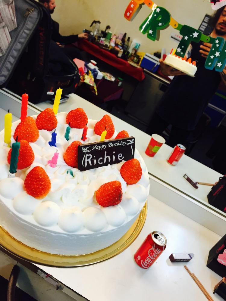 Richie Kotzen On Twitter My Japanese Birthday Cake Which Will Be