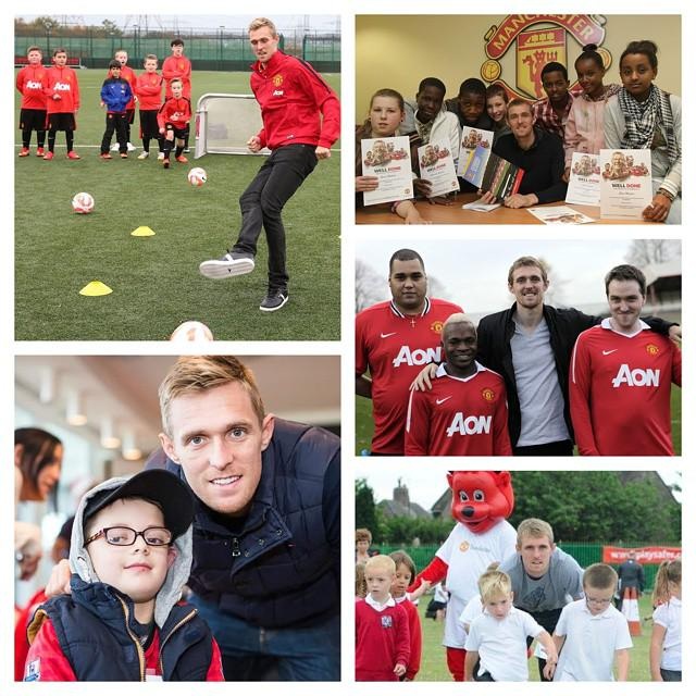 Wishing Darren Fletcher the best with his move to @WBAFCofficial. Thanks for the fantastic work with @MU_Foundation. http://t.co/9tS9E8jfqQ